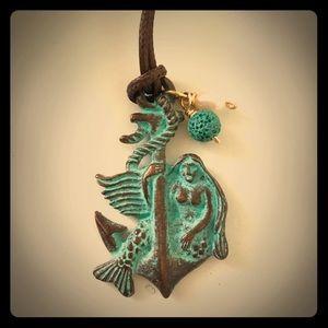 Jewelry - Greek Mermaid Aromatherapy Necklace